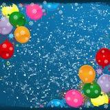 Ar ball2 do Natal Imagens de Stock