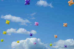 Ar-ballons Imagens de Stock