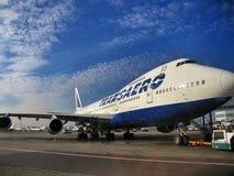 Ar Boeing Imagens de Stock Royalty Free