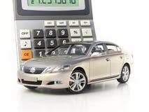 Сar and calculator concept Stock Photos