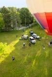 Ar colorido Baloon Fotografia de Stock