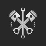 ¡AR de Ð o plantilla del logotipo del taller de la bici (concepto) Ilustración del vector Fotos de archivo
