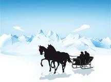Ar in de bergen vector illustratie