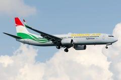 Ar de P4-TAJ Somon, Boeing 737-900 Imagens de Stock Royalty Free