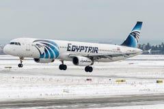 Ar de SU-GBW Egito, Airbus A321-200 Fotografia de Stock