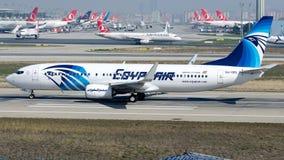 Ar de SU-GEL Egito, Boeing 737-800 Fotografia de Stock Royalty Free