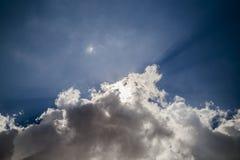 Ar do céu Imagens de Stock