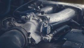 Сar engine, detail view. Stock Photography