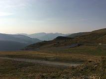 Ar fresco em montanhas do ` s de Andorra fotos de stock