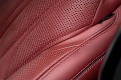 Сar leather background. Royalty Free Stock Photos