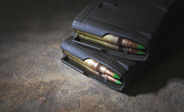 AR-15 Magazines royalty free stock photo