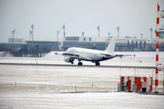Ar Malta Airbus A319-100 9H-AEJ no aeroporto de Munich Fotos de Stock