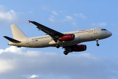 Ar Malta Airbus na libré parcial Fotografia de Stock Royalty Free