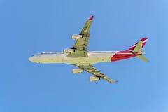 Ar Mauritius Airbus A340-300 Imagem de Stock Royalty Free