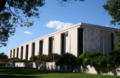 Ar nacional e museu de espaço fotografia de stock