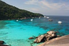 öar phuket similan thailand Royaltyfri Fotografi