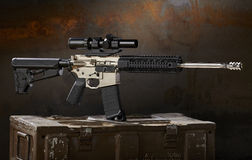 Ar15 rifle Stock Photos
