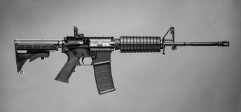 AR-15 Rifle stock photography