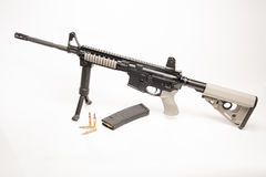AR-15 Rifle Royalty Free Stock Photo
