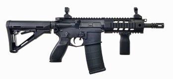 AR15 SBR met 30ste mag en opvouwbare voorraad Stock Fotografie