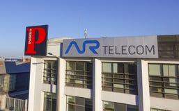 Ar-telekombyggnad i Lissabon - LISSABON - PORTUGAL - JUNI 17, 2017 Royaltyfria Bilder