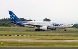 Ar Transat Airbus A330 Foto de Stock Royalty Free