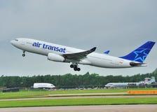 Ar Transat Airbus A330 Fotografia de Stock