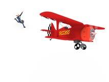 Ar vol 6 do negócio Foto de Stock