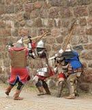 ar walczy zwyczajnych ciężkich rycerzy Obraz Royalty Free