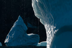 Iceberg melting - Scoresbysund Fjord - Greenland Royalty Free Stock Photography