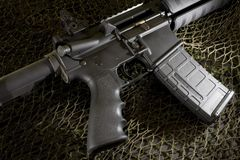 AR15 Royalty Free Stock Photography