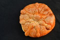 Araña bochenka chlebowego Halloweenowego pająka chlebowy bochenek Obrazy Stock