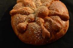 Araña bochenka chlebowego Halloweenowego pająka chlebowy bochenek Obraz Royalty Free