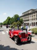 Araña clásica en Mille Miglia 2016 Foto de archivo
