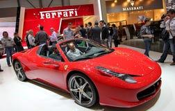 Araña de Ferrari 458 Italia fotos de archivo