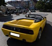 Araña de Ferrari 348 Isla de Vaxholm, Estocolmo, Suecia Imagen de archivo libre de regalías