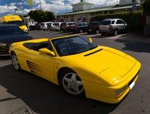 Araña de Ferrari 348 Isla de Vaxholm, Estocolmo, Suecia Fotografía de archivo