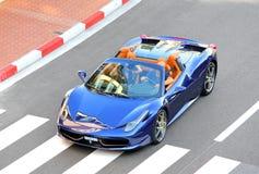 Araña de Ferrari 458 Italia imagen de archivo