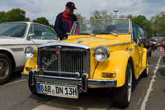 Araña de la primavera 850 de Fiat Siata del coche Fotografía de archivo libre de regalías