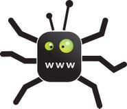 Araña de WWW Imagenes de archivo