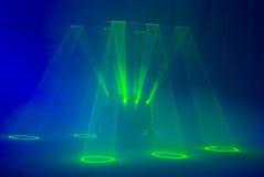 Araña del laser Fotos de archivo