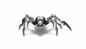 Araña del robot Fotografía de archivo libre de regalías