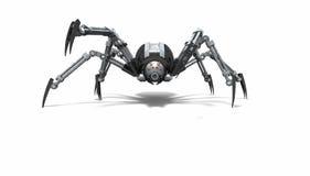 Araña del robot Foto de archivo libre de regalías