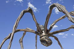 Araña en el museo Bilbao de Guggenheim Fotografía de archivo