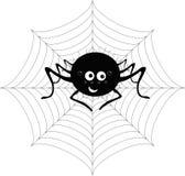 Araña en el Web Fotografía de archivo