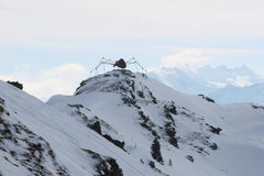 Araña en la montaña Fotos de archivo