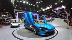 Super car McLaren 720S Spider