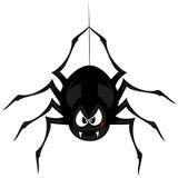 Araña extraña divertida ilustración del vector