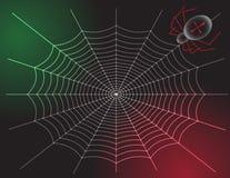Araña y Web Imagenes de archivo