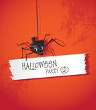 Arañas de Halloween Imagen de archivo libre de regalías